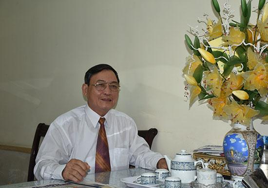 Đại tá Nguyễn Hạnh Kiểm - nguyên Phó Bí thư Thường trực Tỉnh ủy, nguyên Giám đốc Công an tỉnh. Ảnh: NHƯ Ý