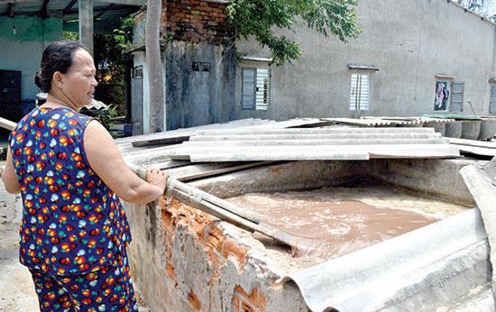 Làng nước mắm Hà Quảng vẫn chưa có thương hiệu hoặc giấy chứng nhận làng nghề.Ảnh: K.LINH