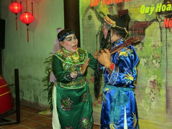 Hát bội là một bộ môn nghệ thuật truyền thống của Quảng Nam gắn với cố GS.Hoàng Châu Ký