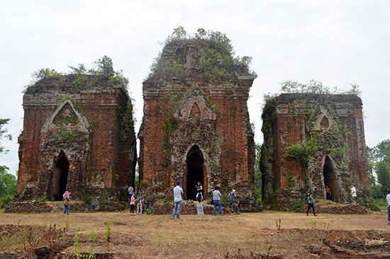 Tháp Chiên Đàn sẽ được đầu tư xây dựng trở thành điểm đến thay thế Mỹ Sơn ở phía nam.