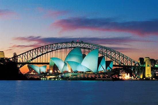 Nước Úc luôn hấp dẫn với du khách tham quan