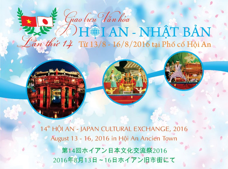 14th Hoi An- Japan Cultural Exchange (2016) (Source: http://www.hoianworldheritage.org.vn)