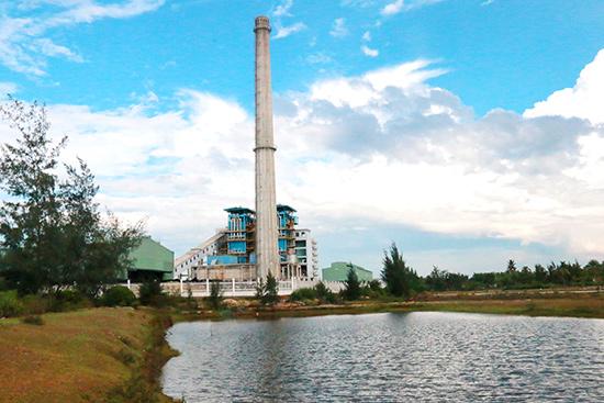 Một góc nhà máy sản xuất sô đa Chu Lai.Ảnh: TRẦN HỮU