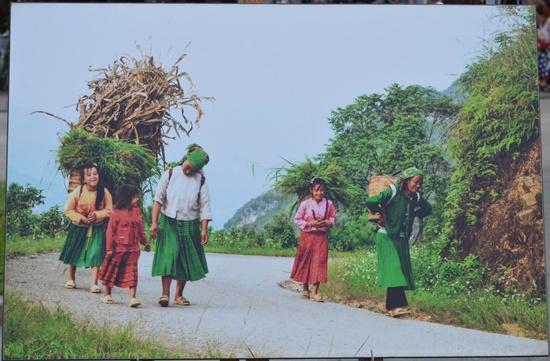 40 tác phẩm về người phụ nữ Việt Nam đã được trưng bày trong dịp này