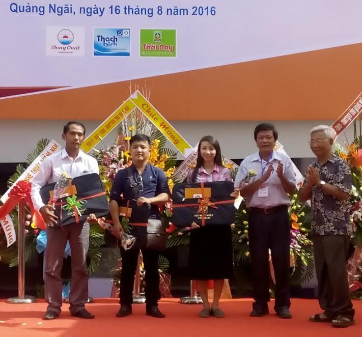 Các họa sĩ trẻ Quảng Nam đoạt giải