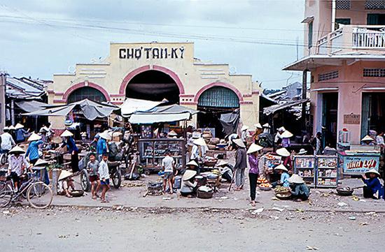 Chợ Tam Kỳ xưa. (Ảnh tư liệu)