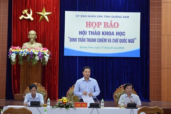 Chương trình hội thảo sẽ diễn ra ngày 24.8 tại Điện Bàn. Ảnh: VĨNH LỘC.