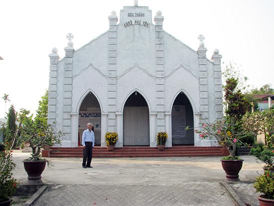 Đền thánh Phước Kiều. Ảnh: Phòng VHTT thị xã Điện Bàn cung cấp