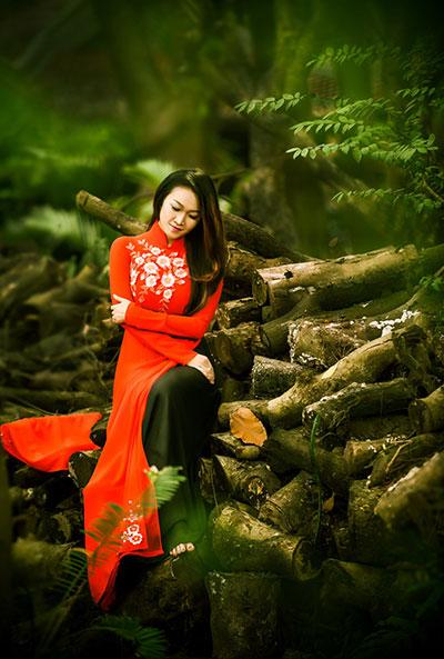 Ca sĩ Phương Trang.