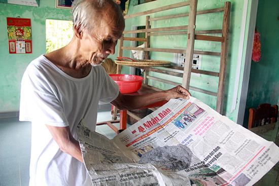Trứng tằm không nở được cũng là nguyên nhân làm cho nghề nuôi tằm truyền thống ở xã Duy Trinh đứng trước nguy cơ mai một. Ảnh: CƯỜNG ĐẠT