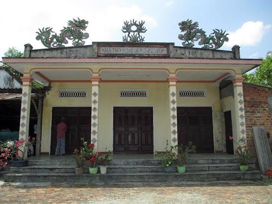 Nhà thờ tộc Phan ở xã Quế Châu (Quế Sơn). Ảnh: LÊ THÍ