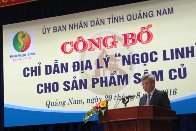 Thứ trưởng Bộ KH&CN Trần Việt Thanh phát biểu tại buổi lễ. Ảnh: Bích Liên