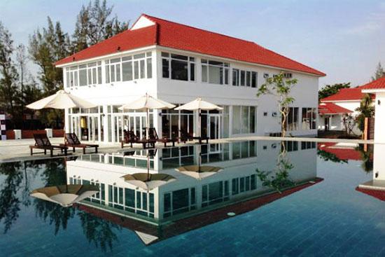 Khu du lịch nghỉ dưỡng Tam Thanh đi vào hoạt động phục vụ khách du lịch được tốt hơn. Ảnh: T.Q