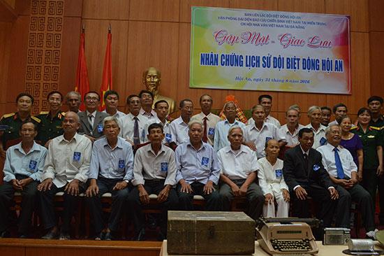 Đội Biệt động Hội An năm xưa hơn 50 thành viên, nay chỉ còn 26 người.