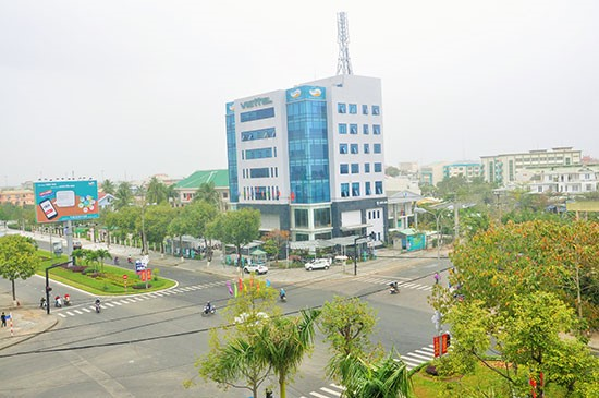 Green growth strategy  for Tam Ky city (Photo: Xuan Phu)