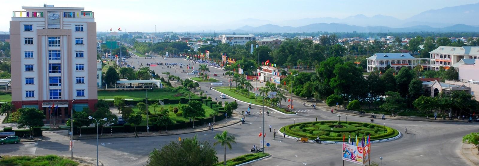 A corner of Tam Ky city. Photo: phuantien