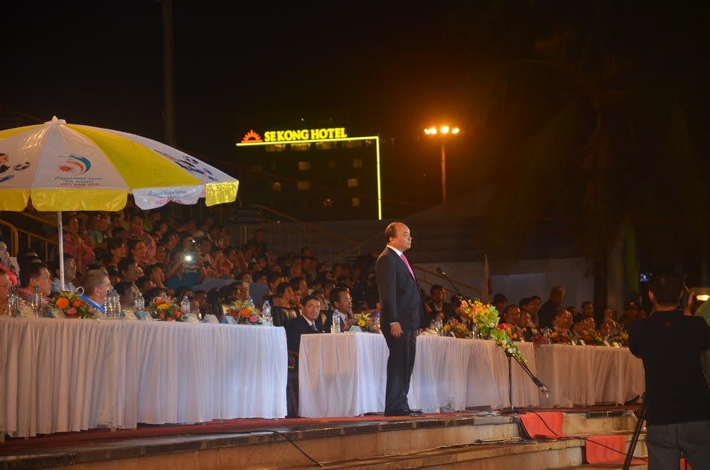 Thủ tướng Nguyễn Xuân Phúc tuyên bố khai mạc đại hội ABG5 – Đà Nẵng 2016