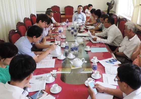 The scene of the meeting. Picture:hoian.gov.vn