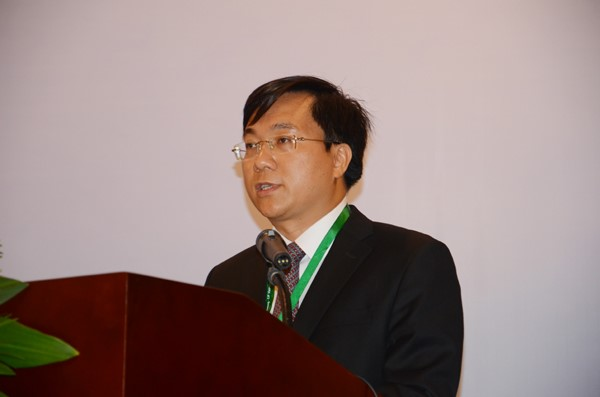 Mr Tran Duy Dong at the conference