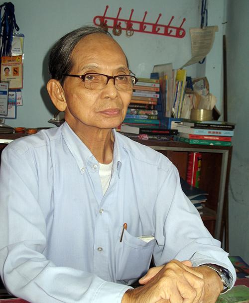 Nhà nghiên cứu Nguyễn Sinh Duy.