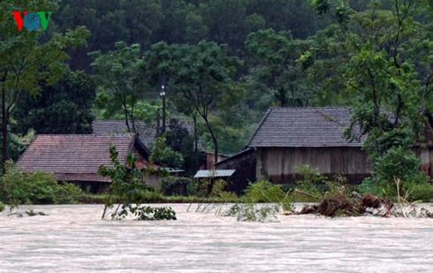 Từ ngày 12/10/2016 đến nay, các tỉnh từ Hà Tĩnh đến Thừa Thiên-Huế đã có mưa to và mưa rất to.