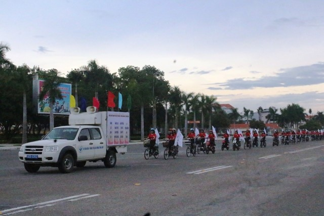 The parade to respond to International Day for Disaster Reduction.