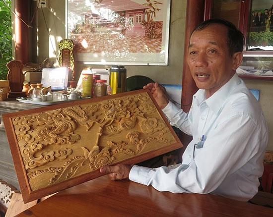 Nghệ nhân nhân dân Nguyễn Văn Tiếp.Ảnh: SONG ANH
