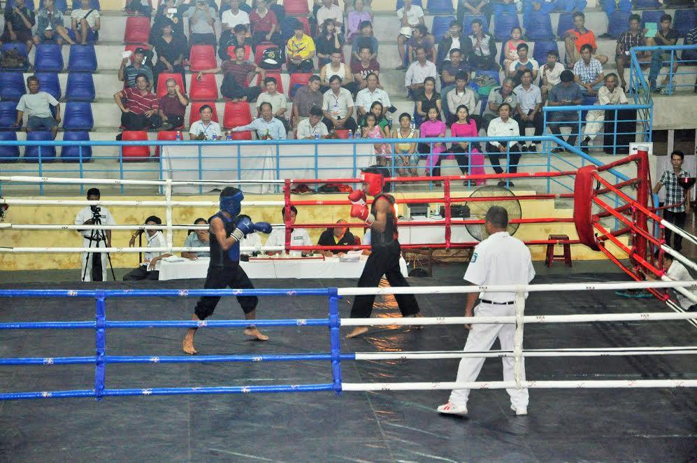 Giải thu hút sự theo dõi của khá đông người dân huyện Núi Thành