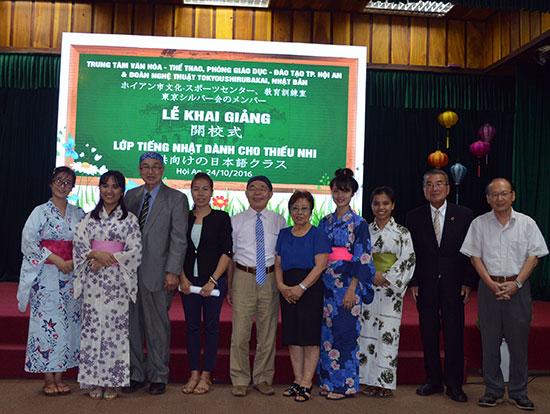 Lớp học sẽ do các giáo viên Việt Nam và Nhật Bản giảng dạy. Ảnh: K.LINH