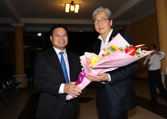 Vice Chairman Thanh and Thai Deputy Prime Minister Somkid Jatusripitak