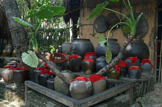 Rượu đã trở thành một nét văn hóa độc đáo của dân tộc Miêu - Lê