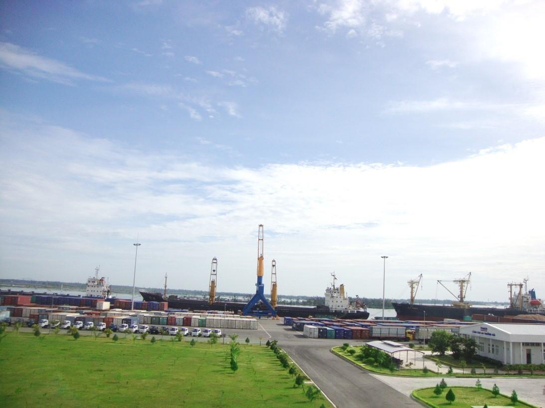 Chu Lai- Truong Hai port (Picture: thacologistics.vn)