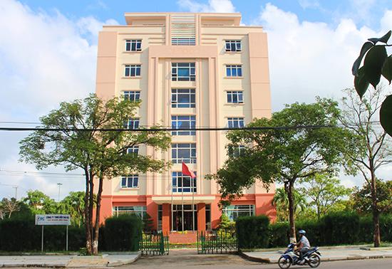 Tòa nhà Trung tâm Hành chính công và xúc tiến đầu tư tỉnh.  Ảnh: V.HÀO