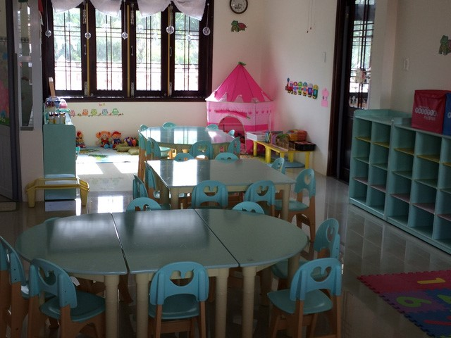 Equipment of the kindergarten (Source: http://dantri.com.vn/)