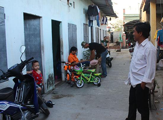 Các dãy trọ tại Khu công nghiệp Điện Nam - Điện Ngọc luôn giữ vững an ninh trật tự. Ảnh: T.T.T