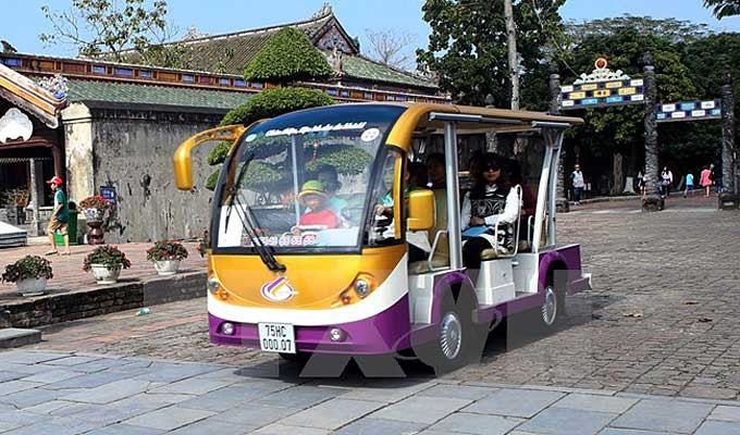 Electric tourist car service (VNA)