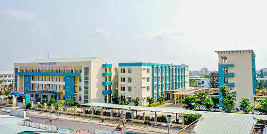 Quang cảnh Trường Cao đẳng Y tế Quảng Nam. Ảnh: PHƯƠNG THẢO