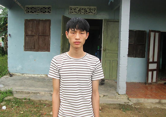 Em Nguyễn Sỹ Phương Anh rất cần sự giúp sức của các nhà hảo tâm. Ảnh: T.S
