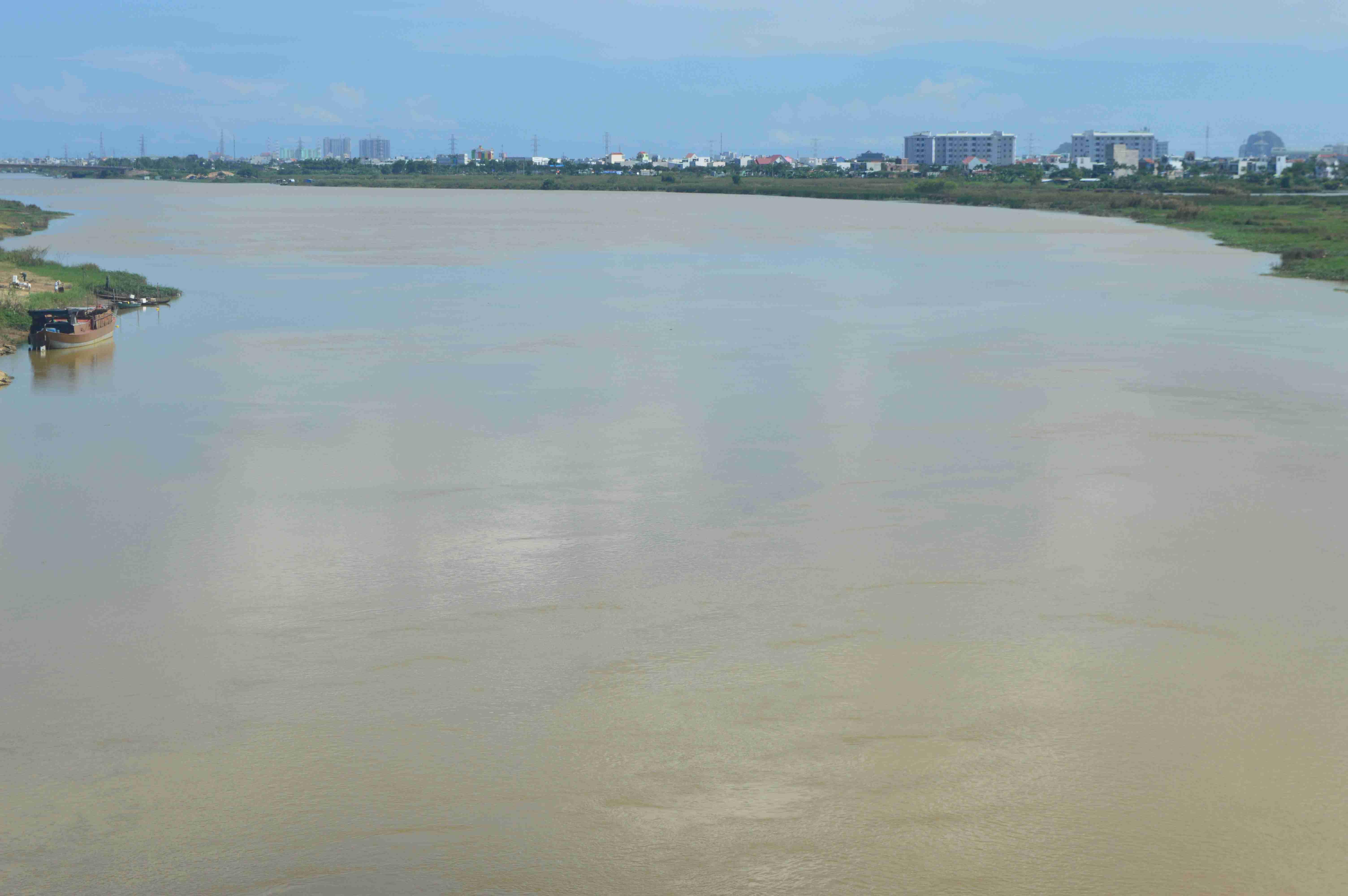 Từ năm 2017, Đà Nẵng sẽ mở mới tuyến vận tải du lịch sông Hàn - Vĩnh Điện. Ảnh:Q.T