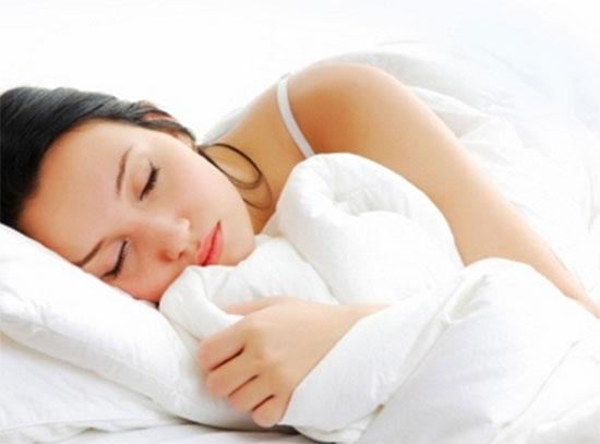 Nằm ngủ đúng tư thế