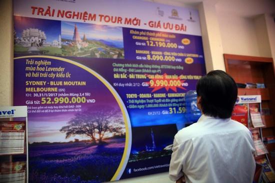 Nhiều chương trinh du lịch với giá ưu đãi đang được Vietravel Đà Nẵng giới thiệu đến khách