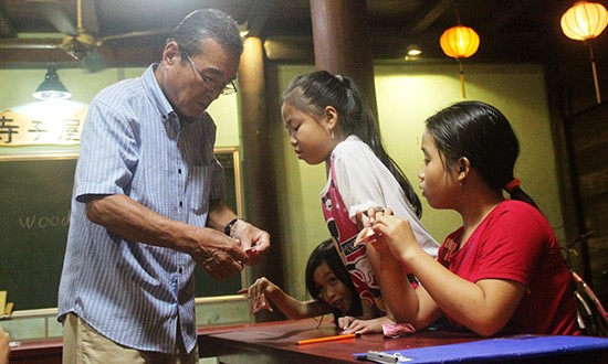 Free Japanese class in Hoi An city