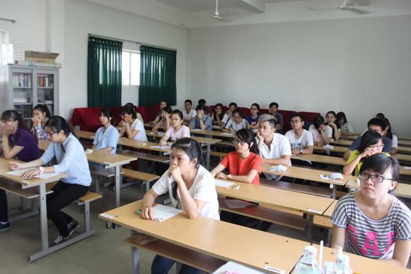 Có 3.733 thí sinh đến từ nhiều tỉnh, thành miền Trung tham dự kì thi JLPT tại Đà Nẵng. Ảnh: Q.T