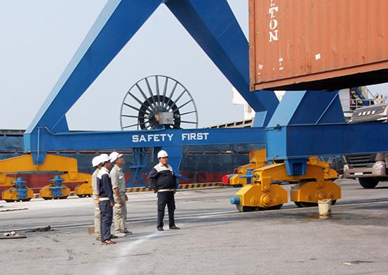 Cảng Tam Hiệp - Trường Hải. Ảnh: MINH ĐỨC