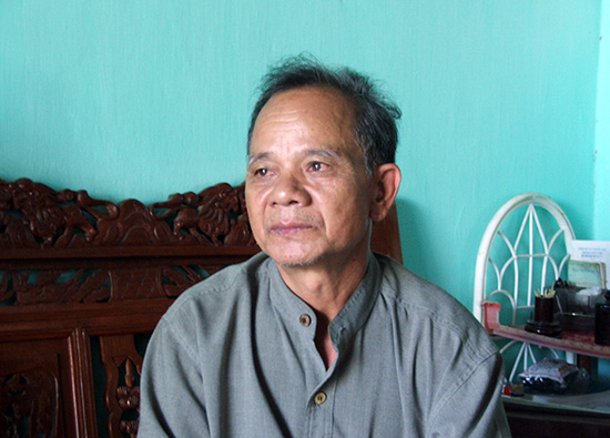 Chân dung ông Hồ Văn Điều chụp năm 2005. Ảnh: TAM MỸ