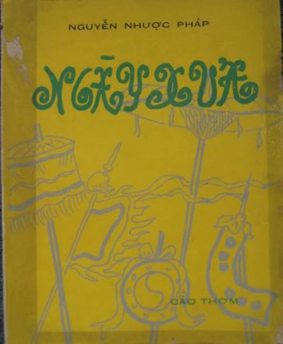 """""""Ngày xưa"""" do Cảo Thơm ấn hành năm 1966, tranh bìa và minh họa của họa sĩ Thái Tuấn."""
