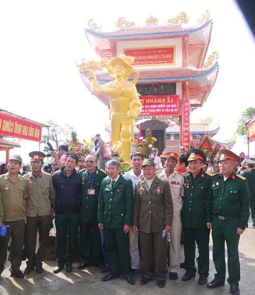 5.Các CCB Tiểu đoàn 76 Hải Đà trong ngày hội ngộ