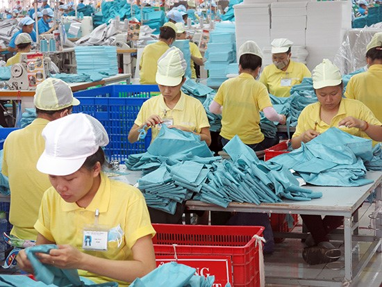 A factory in Quang Nam province