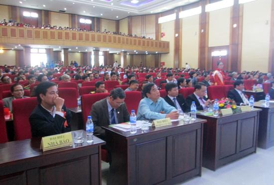 Toàn cảnh lễ kỷ niệm 10 năm thành lập Trường Đại học Nội vụ Hà Nội, cơ sở Quảng Nam