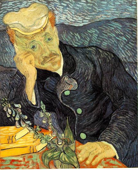 """Bức tranh """"Chân dung bác sĩ Gachet"""" của Van Gogh. Ảnh: Internet"""
